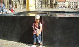 V ZOO Plzeň s vnoučkem
