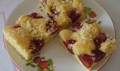 Jemný švestkový koláč