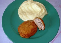 Karbanátek se sýrem