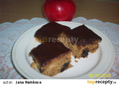 Americká buchta s jablky