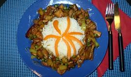 Ananasová čína pro Lukyho