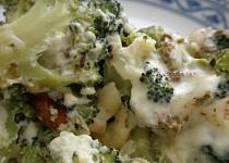 Brokolice zapečená se sýrem