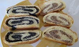 Buchty / těsto dělané v domácí pekárně
