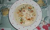 Celerová polévka s Nivou
