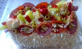 Chlebový dort z pekárny
