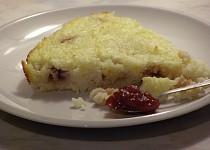 Citrónový rýžový nákyp