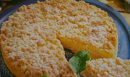 Drobenkový koláč s jablky