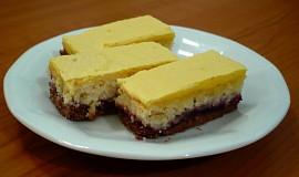 Dvoubarevný  kokosový koláč