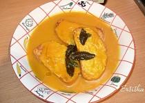 Dyňová polievka podľa Jamieho Olivera