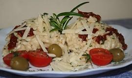 Italské krémové rizoto se sušenými rajčaty