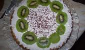 Jablečné řezy s kokosem a smetanou
