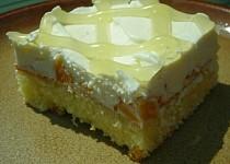 Jogurtovo - šlehačkový zákusek