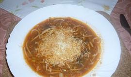 Kapustová polévka se sýrem