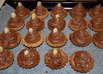Košíčky s čokoládovým krémem