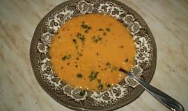 Krabí polévka s bylinkami