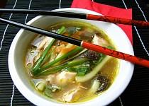 Kuřecí kari polévka
