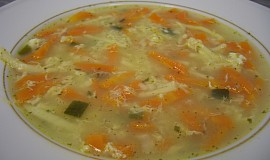 Kuřecí polévka s nudlemi