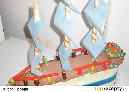 Loďka k narozeninám