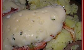Kuřecí minutka s pórkem a sýrem