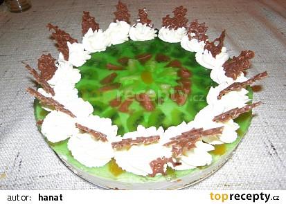 Ovocno-tvarohový dort
