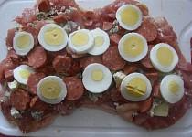 Pikantní kuřecí roláda