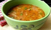 Polévka z hlívy ústřičné  a la dršťková