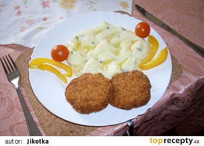 Rybí karbanátky se sýrem