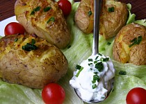 Sešlápnuté brambory