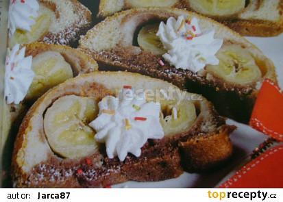 Srnčí hřbet s banánem