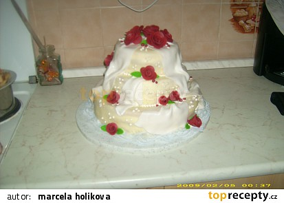 svatebni dort