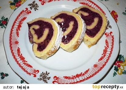 Švestková  roláda