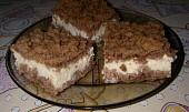 Tvarohový koláč strouhaný