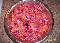 Zeleninovo-ovocný salátek