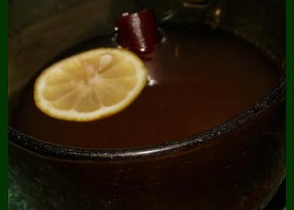 Fotka nic moc, ale čaj krásně voní a opravdu dýchací cesty protáhne :-)