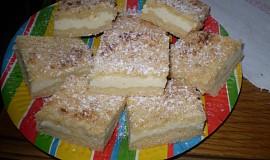 Drobenkový tvarohový koláč