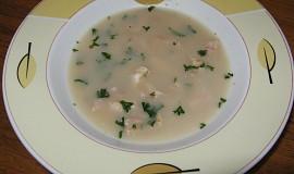 Francouská kuřecí polévka
