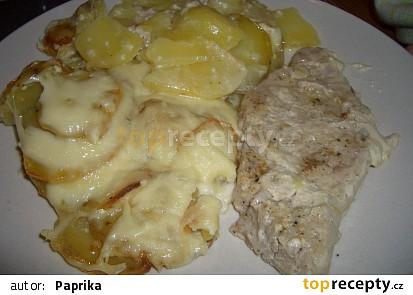 ... kotletky na šlehačce se sýrem