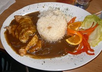 Kuřecí steak s meruňkou