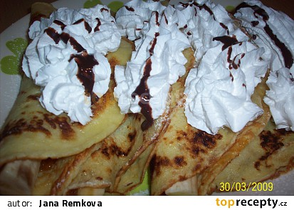 Palačinky s banánem
