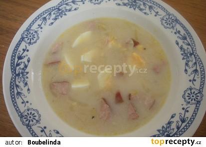 Polévka z uzených žebírek