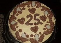 Skládaný dort
