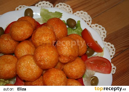 Smažené sýrové kuličky