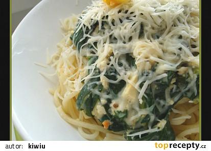 Spaghetti ala kiwiu