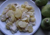Sýrové brambory s hruškou