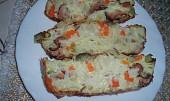 Těstoviny s uzeným masem a zeleninou