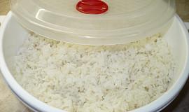 Vaření rýže v mikrovlné troubě