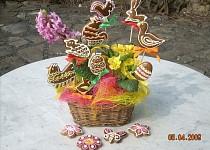 Velikonoční dárek s perníčky