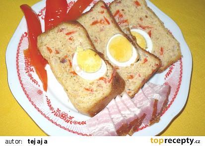 Velikonoční vaječný chléb