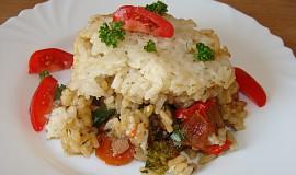 Vepřové ragů s rýžovou peřinkou