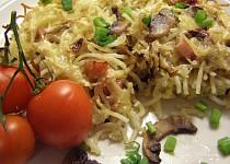 Zapékané špagety po milánsku